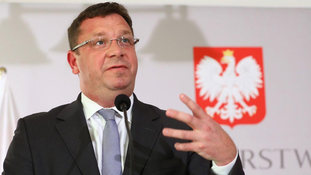Wiceminister sprawiedliwości Michał Wójcik (fot. arch.PAP/Rafał Guz)