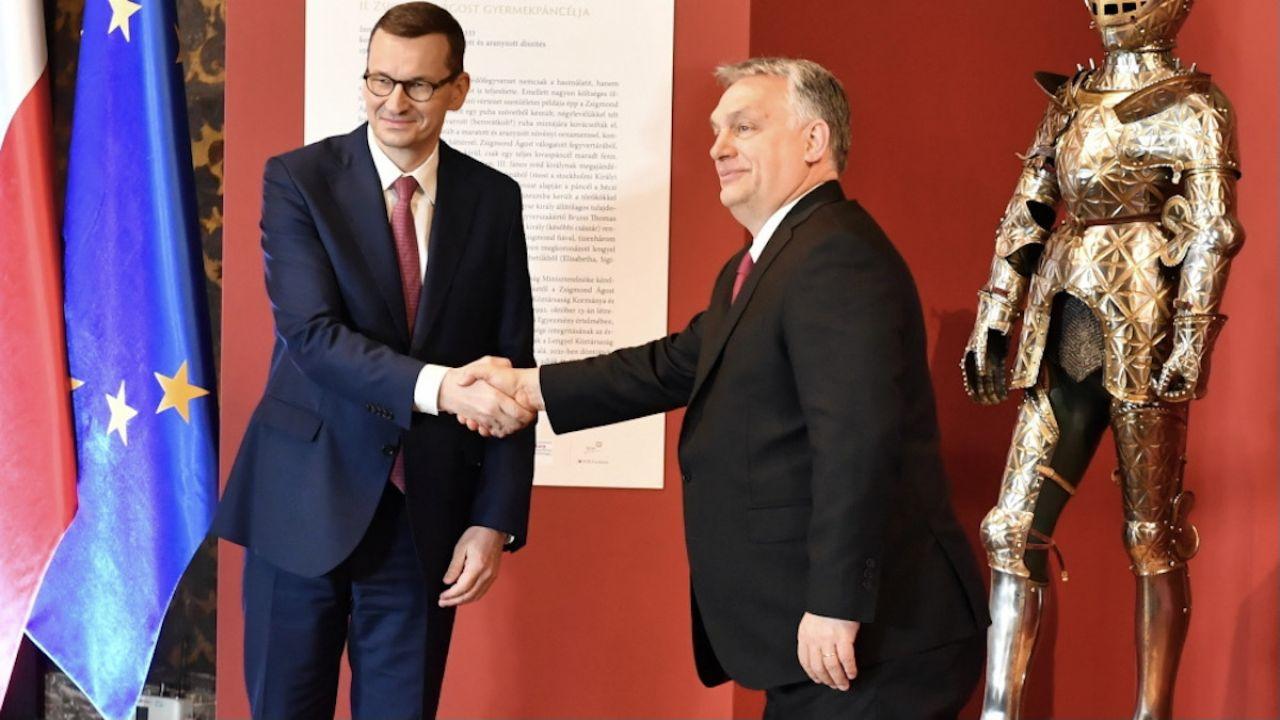 Mateusz Morawiecki i Viktor Orban (fot. PAP/Art Service 2)