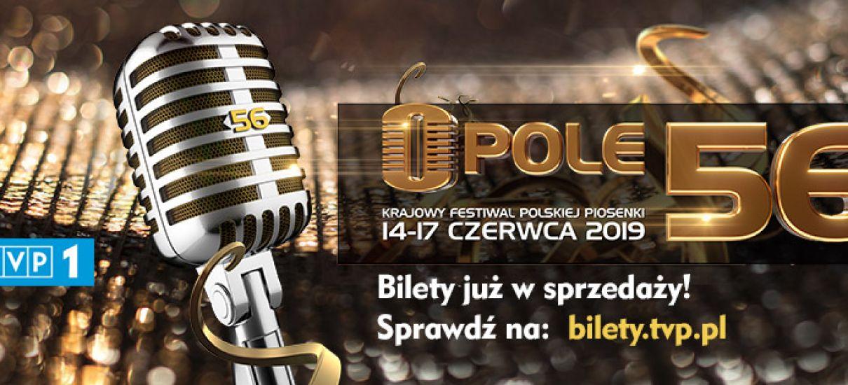 56. Krajowy Festiwal Piosenki Polskiej OPOLE 2019