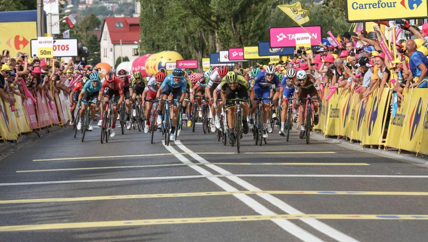 Tour de Pologne trzeci etap: Wadowice – Bielsko-Biała