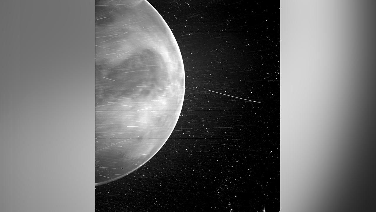 Amerykańska agencja kosmiczna udostępniła zdjęcie planety Wenus (fot.NASA/Johns Hopkins APL/Naval Research Laboratory/Guillermo Stenborg and Brendan Gallagher)