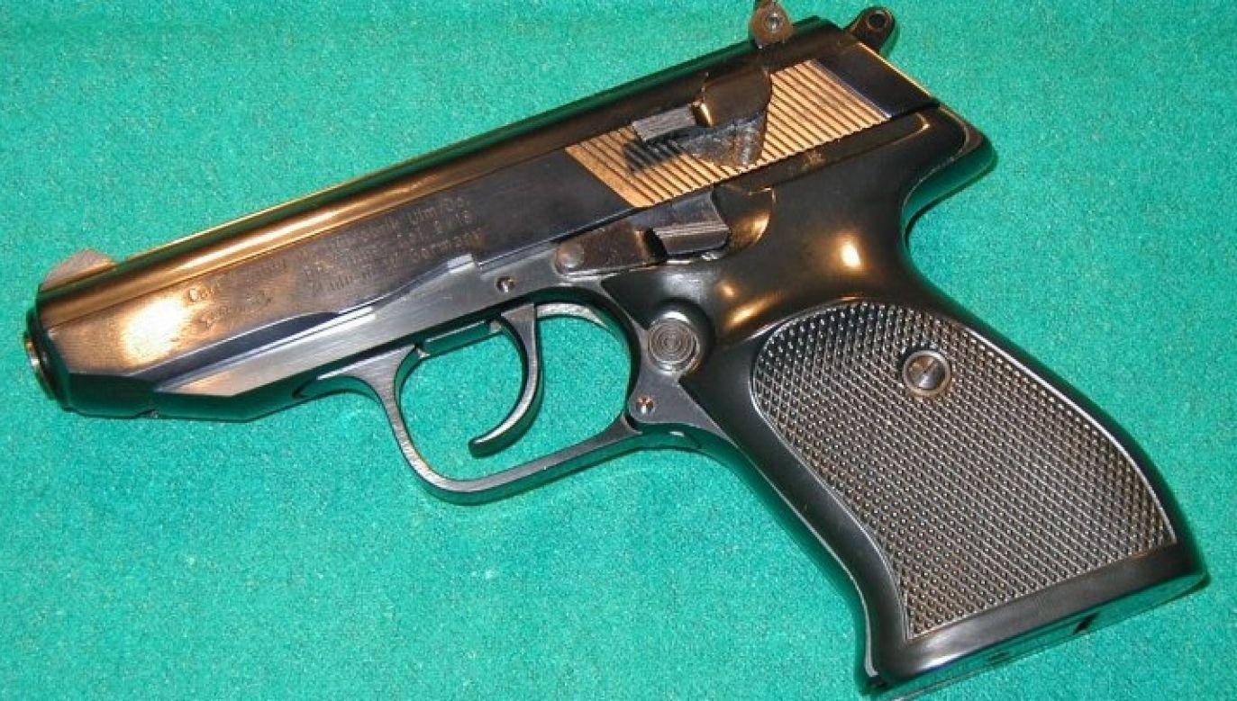 Pistolet Bonda to półautomatyczny Walther PP (fot. Grzegorz Wiśniewolski/PK-U