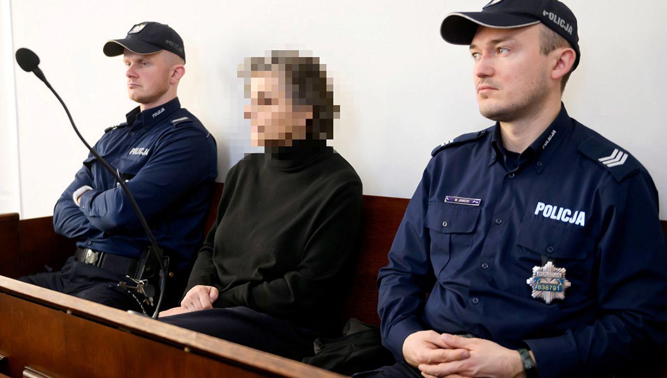Prokuratura oskarżyła Grażynę F. o nieudzielenie pomocy i nieumyślne spowodowanie śmierci Vasyla C.  (fot. PAP/Jakub Kaczmarczyk)