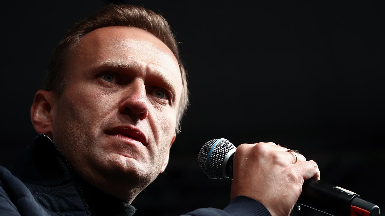Aleksiej Nawalny (fot.  Sergei Bobylev\TASS via Getty Images)