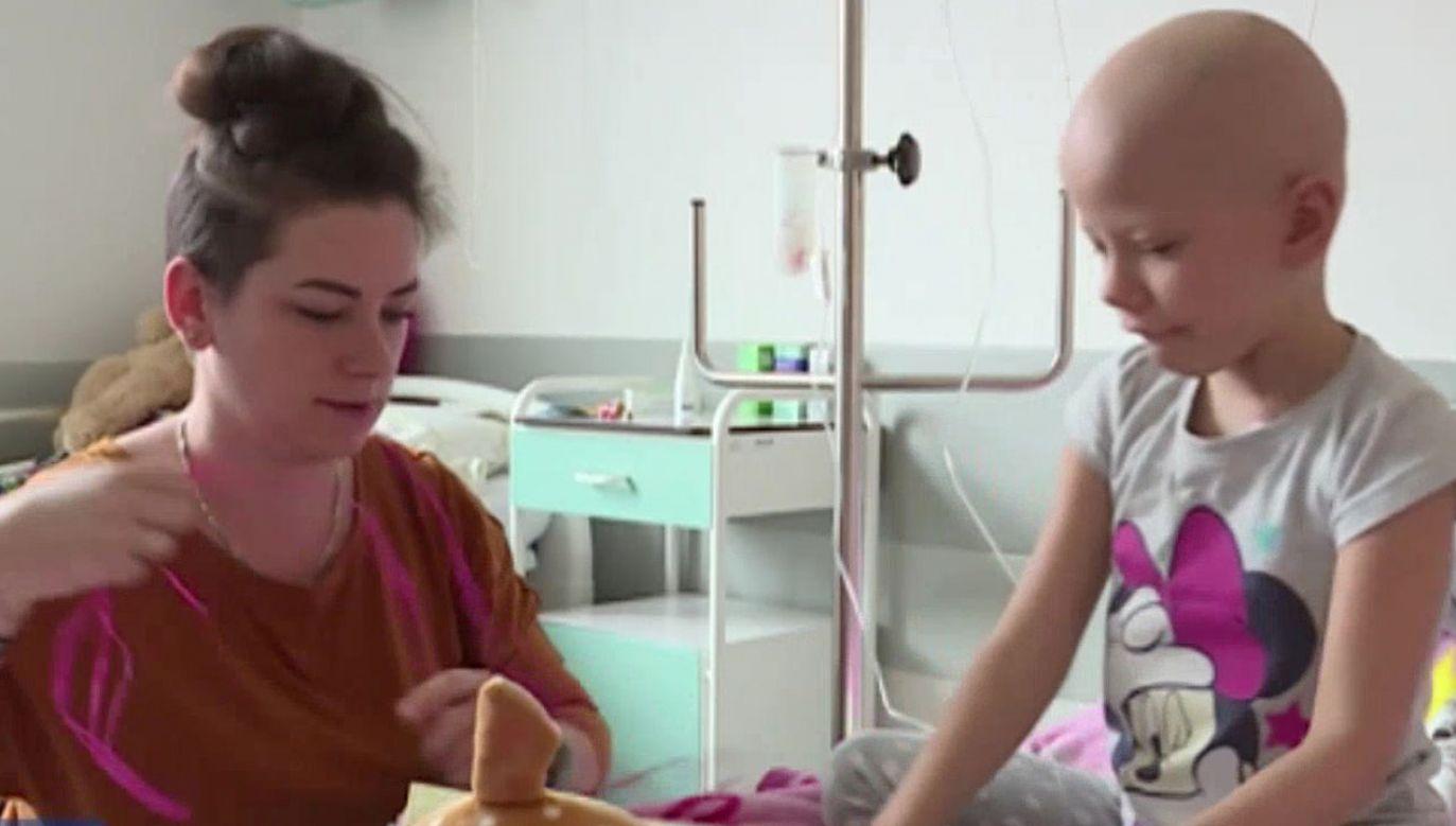 5-letnia Maja przejdzie przeszczep już za kilka dni  (fot. TVP)