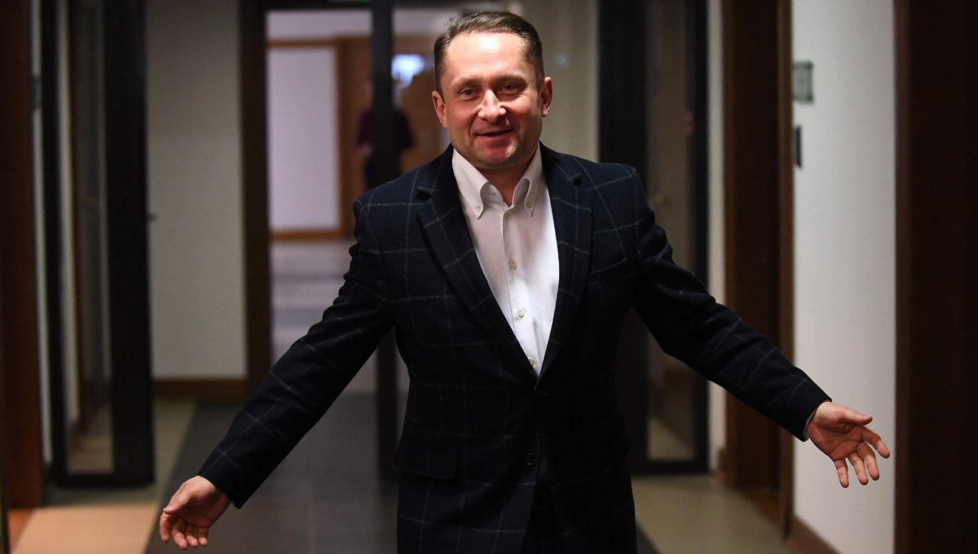 Kamil Durczok weksel złożył do banku w 2009 r. (fot. arch. PAP/Bartłomiej Zborowski)