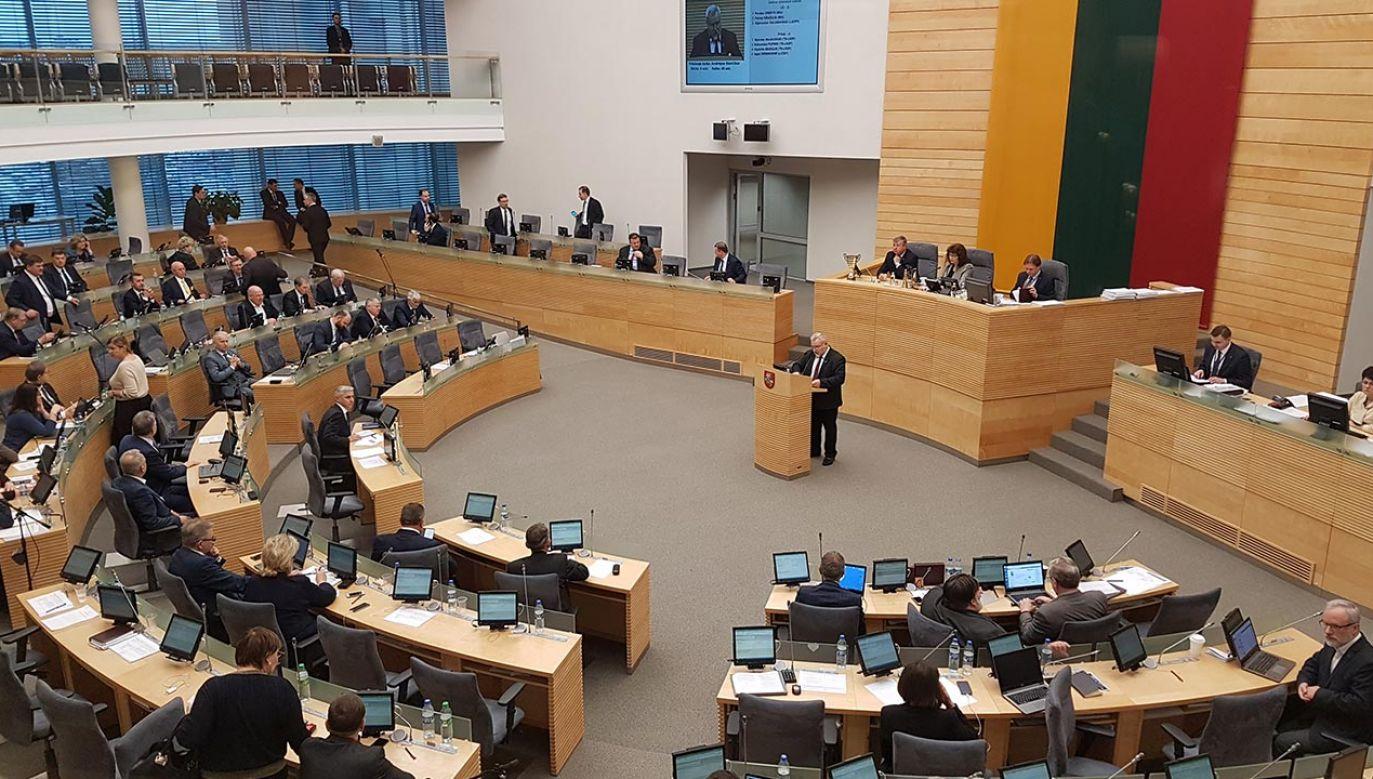 Litewscy politycy potępiają wypowiedź Valinskasa (fot. Shutterstock/Birute Vijeikiene, zdjęcie ilustracyjne)