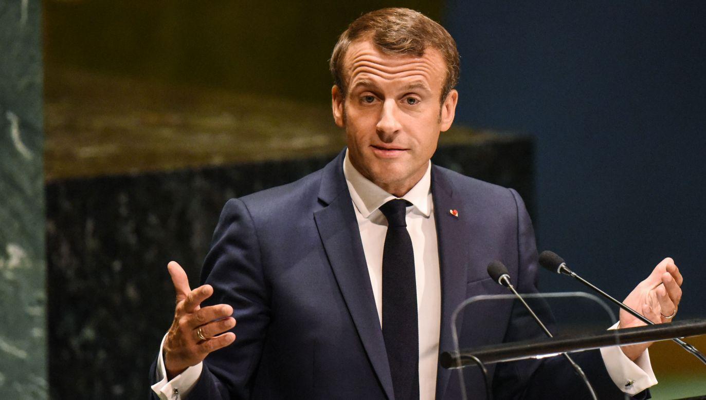 Prezydent Francji wielokrotnie w przeszłosci atakował Polskę