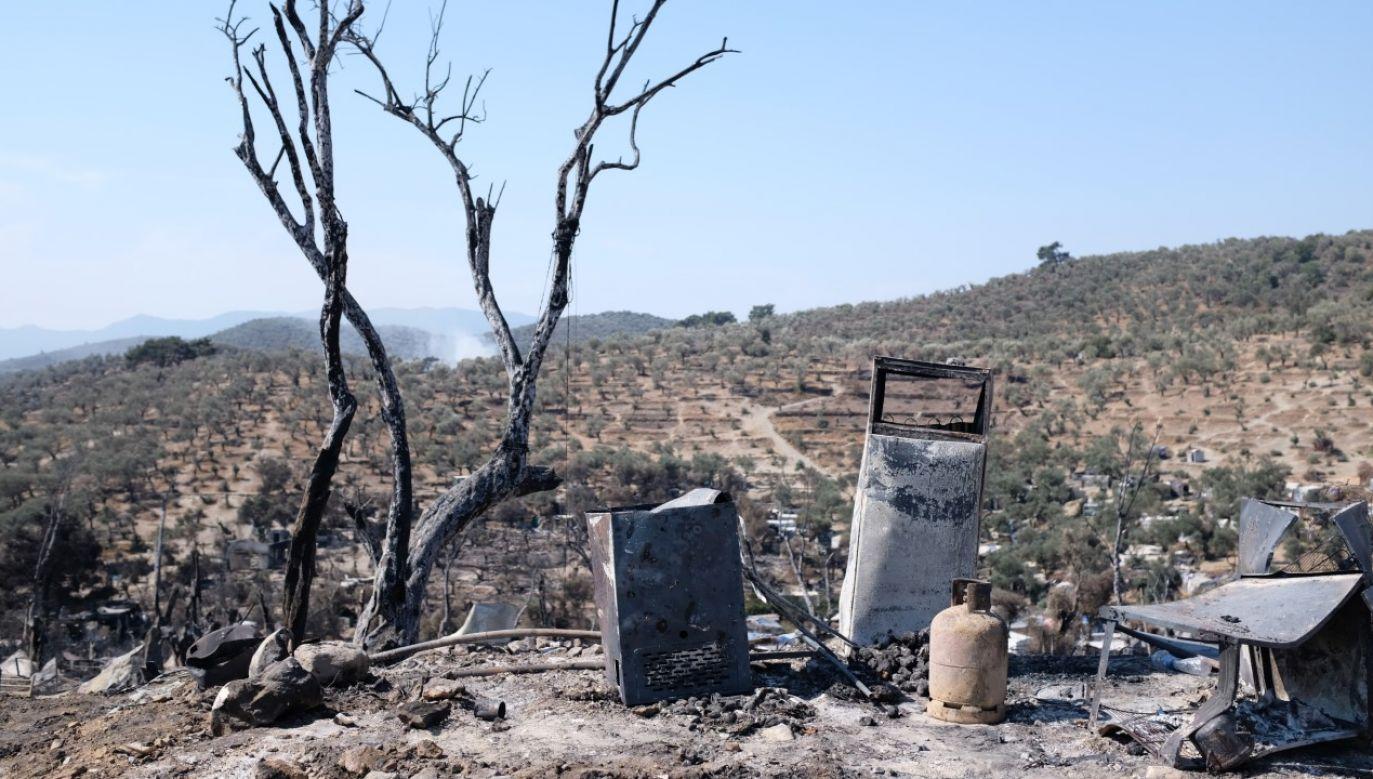 Przyczyna pożaru nie jest jeszcze znana (zdjęcie ilustracyjne) (fot. Aggelos Barai/Anadolu Agency via Getty Images)