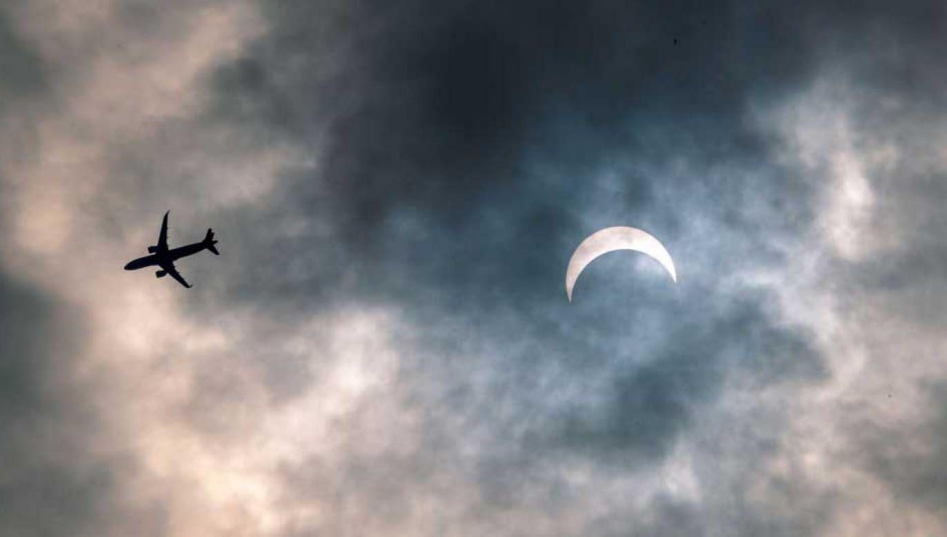 Pierścieniowe zaćmienie Słońca będzie widoczne z terenów Kanady (fot. VCG/VCG via Getty Images)