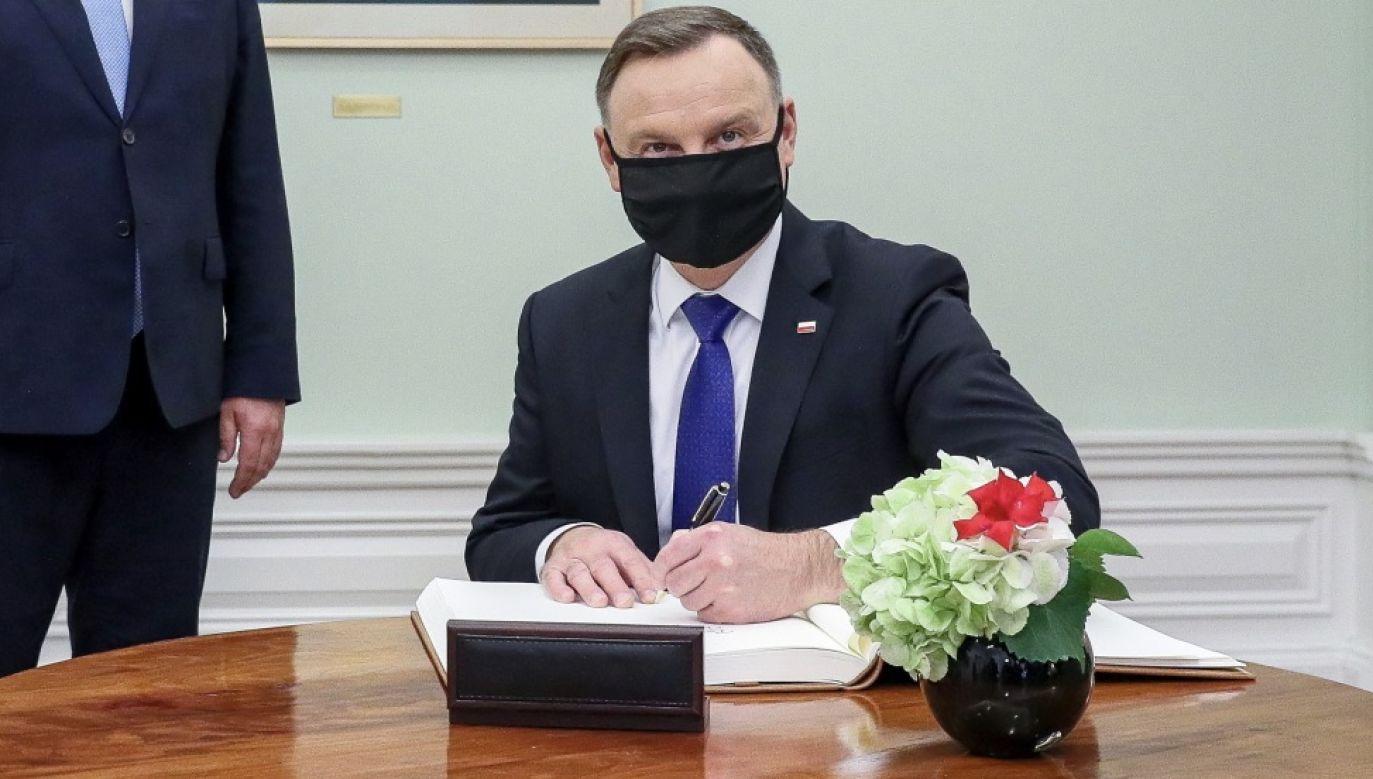 Powołanie Funduszu Medycznego prezydent zapowiedział w marcu (fot. PAP/KPRP/Igor Smirnow)