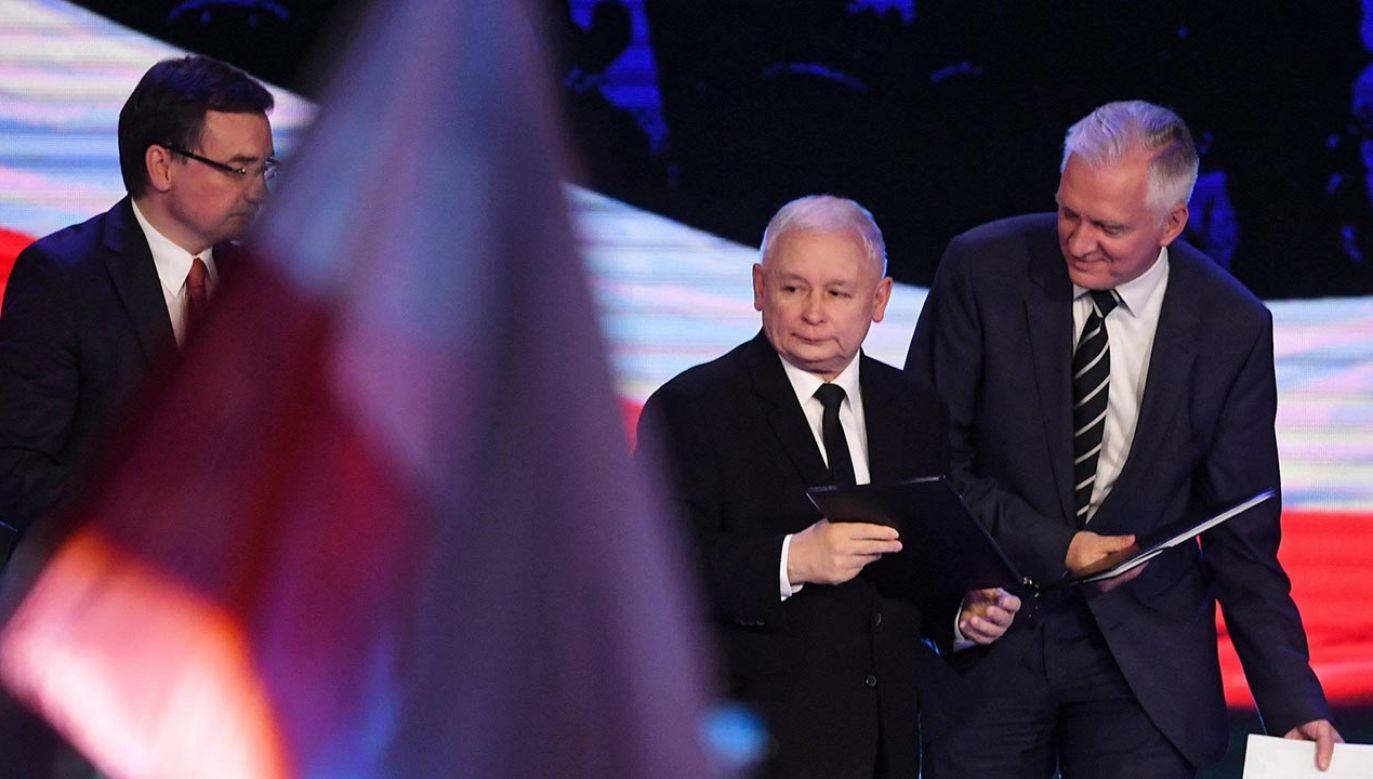 Zamieszanie po głosowaniu w Sejmie ws. piątki dla zwierząt (fot. PAP/Bartłomiej Zborowski)