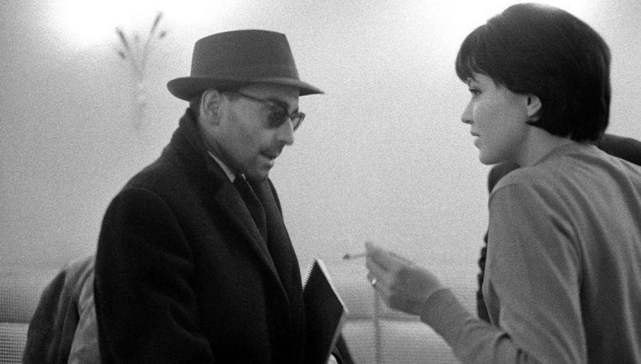 Anna Karina i Jean-Luc Godard w 1960 roku (fot. REPORTERS ASSOCIES/Gamma-Rapho via Getty Images)