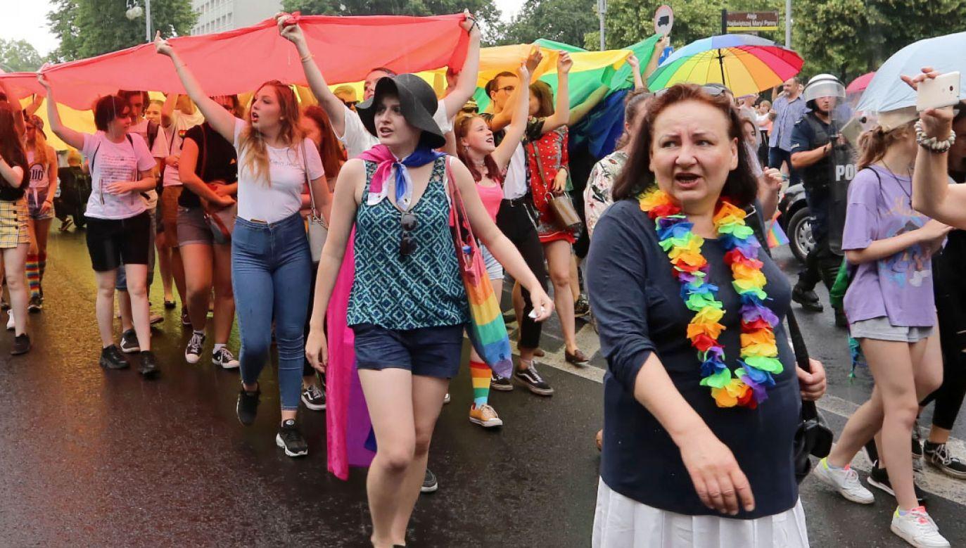 II Marsz Równości w Częstochowie (fot. PAP/Waldemar Deska)