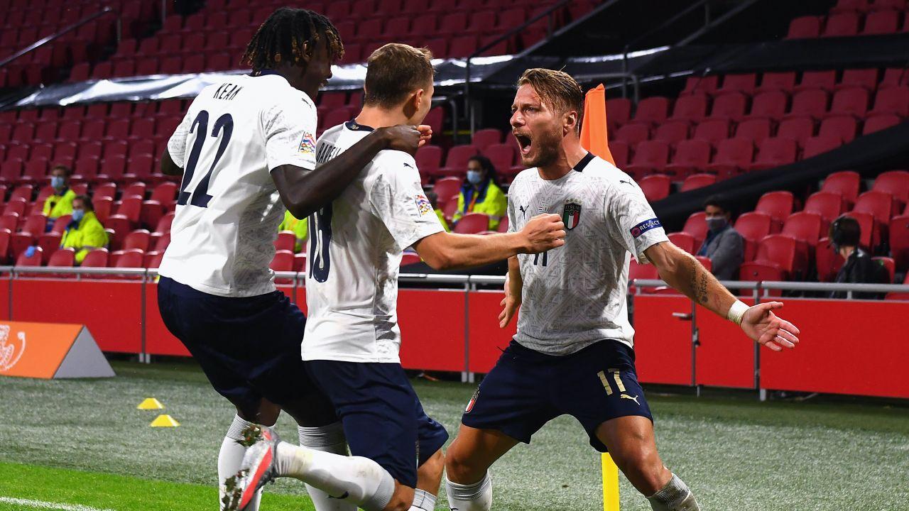 Oglądanie reprezentacji Włoch sprawia coraz więcej radości (fot. Claudio Villa/Getty Images)