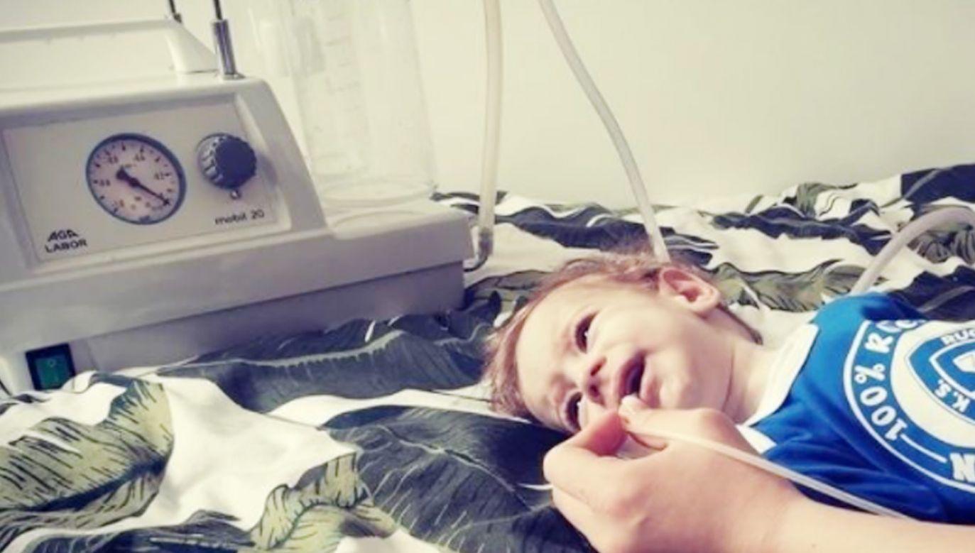 Pomoc dla chłopca chorego na SMA (fot. www.siepomaga.pl)