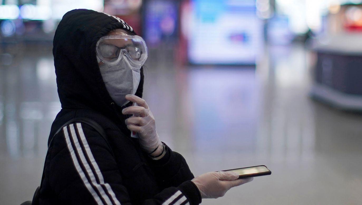 Pozostałym Chińczykom mieszkającym we Włoszech władze w Pekinie nie pozwoliły na powrót (fot. Reutera/Aly Song)