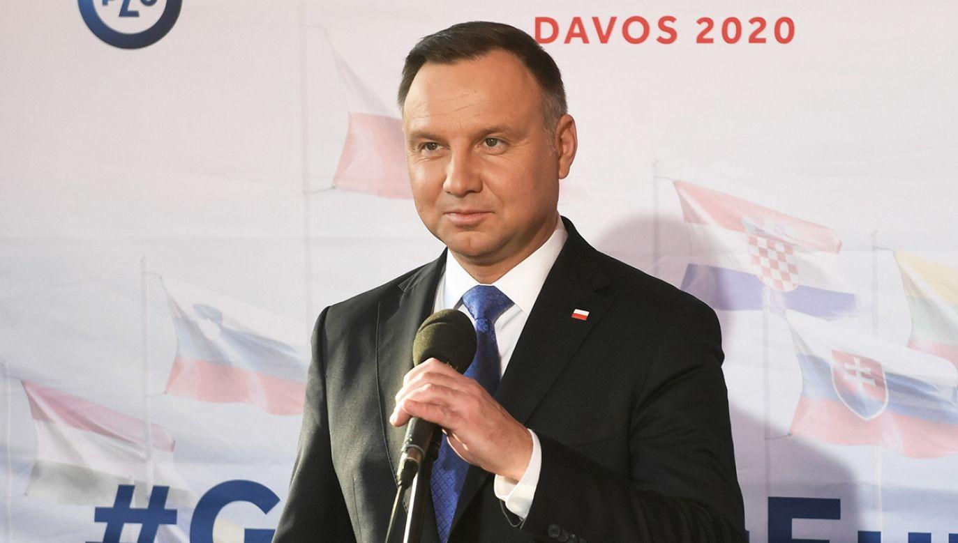 Prezydent Andrzej Duda (fot. arch. PAP/Radek Pietruszka)