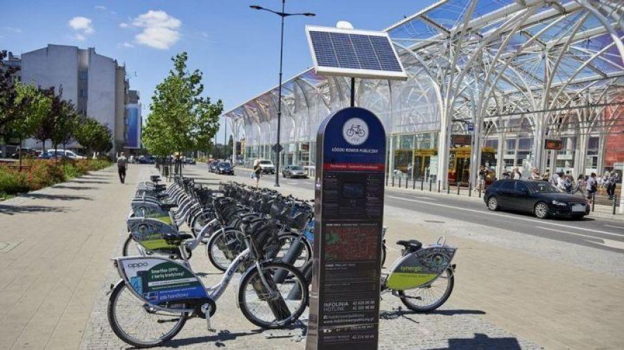 System Roweru Miejskiego ma wrócić do Łodzi na wiosnę 2021 roku/fot. TVP3 Łódź
