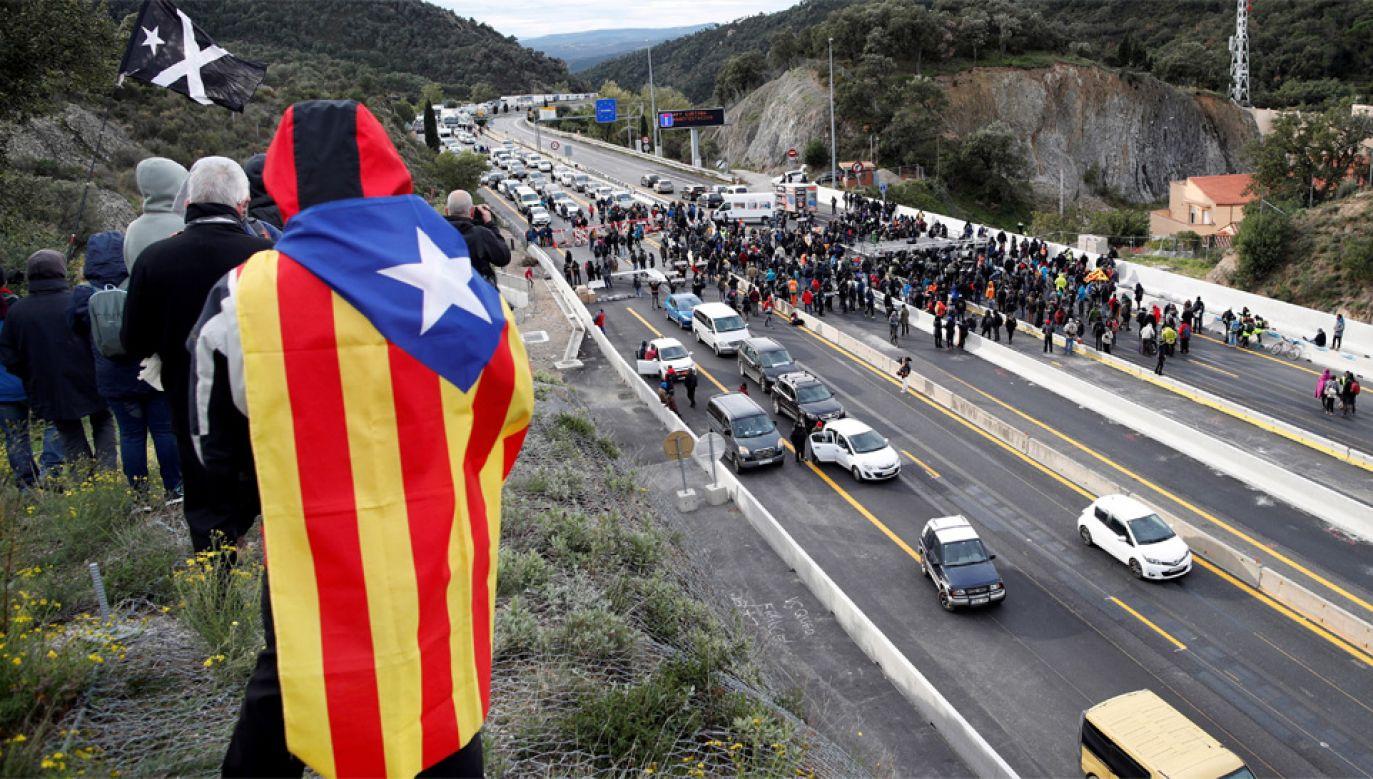 Policja zatrzymała 19 katalońskich separatystów (fot. PAP/EPA/ALEJANDRO GARCIA)