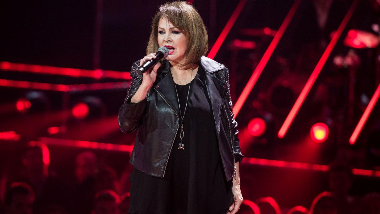 Gościem specjalnym historycznego finałowego odcinka pierwszej edycji programu była Izabela Trojanowska (Fot. TVP/Jan Bogacz)