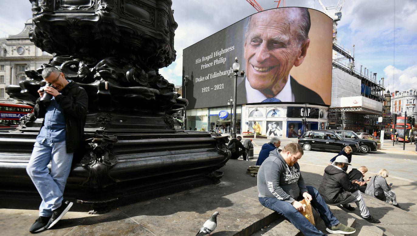 Książę Filip w czerwcu 2021 roku skończyłby 100 lat (fot. K.O'Connor/PA/Getty Images)