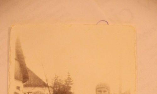 Rok 1938. Zosia, Hania i Marysia Gorodziejko w Świętej Woli. Fot. Archiwum prywatne