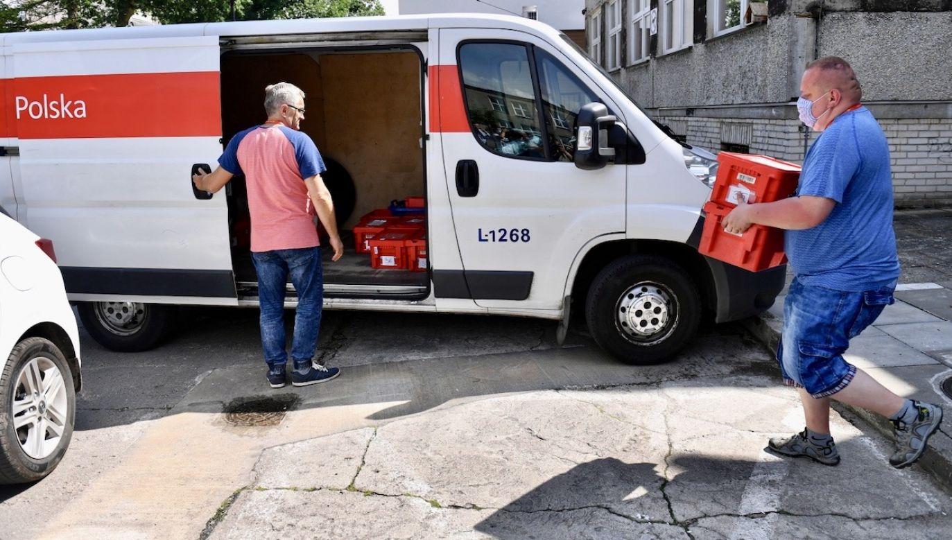 Zgłoszenie zamiaru głosowania korespondencyjnego przed I turą dotyczy też głosowania 12 lipca (fot. PAP/Marcin Bielecki)