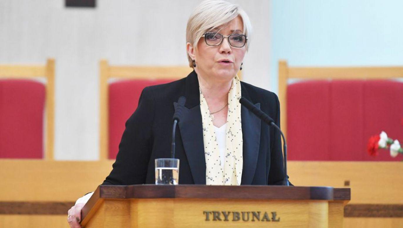 Staramy się każdemu obywatelowi pomagać – oceniła Julia Przyłębska (fot. arch.PAP/Bartłomiej Zborowski)