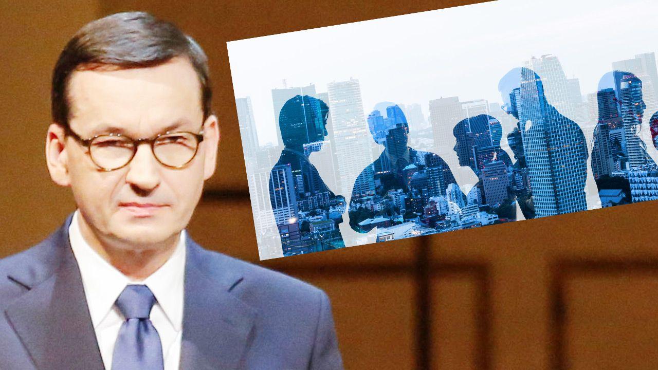 Premier Mateusz Morawiecki (fot. Wenzel/Pool/Getty Images; Shutterstock)