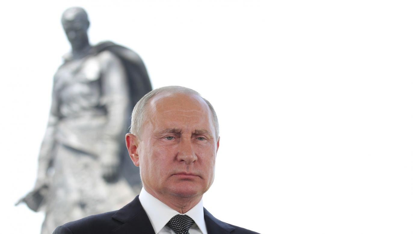 Kreml hoduje najemników i terrorystów (fot. PAP/EPA/MICHAEL KLIMENTYEV/SPUTNIK/KREMLIN / POOL)