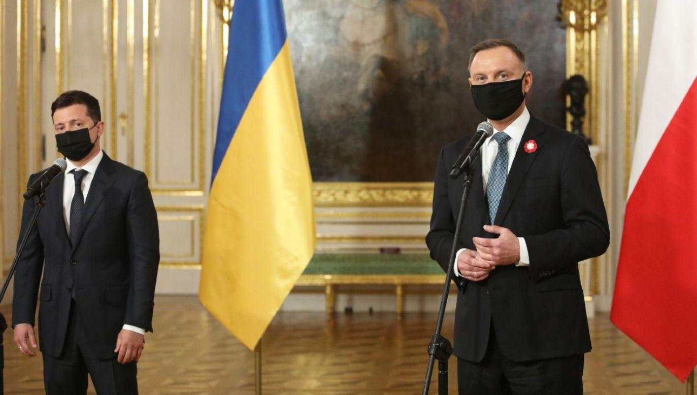 Polska i Ukraina podzielają wspólne europejskie wartości – czytamy w deklaracji (fot. PAP/Leszek Szymański)