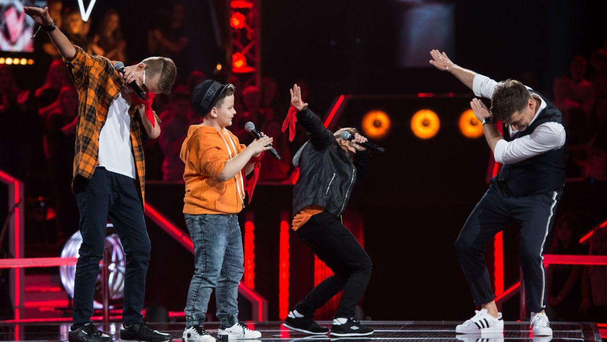 Według Tomasza Kammela chłopaki są gotowi, by powtórzyć sukces One Direction. – Tylko że my się nie rozpadniemy! – stwierdził z pewnością w głosie Tomek  (fot. J. Bogacz/TVP)