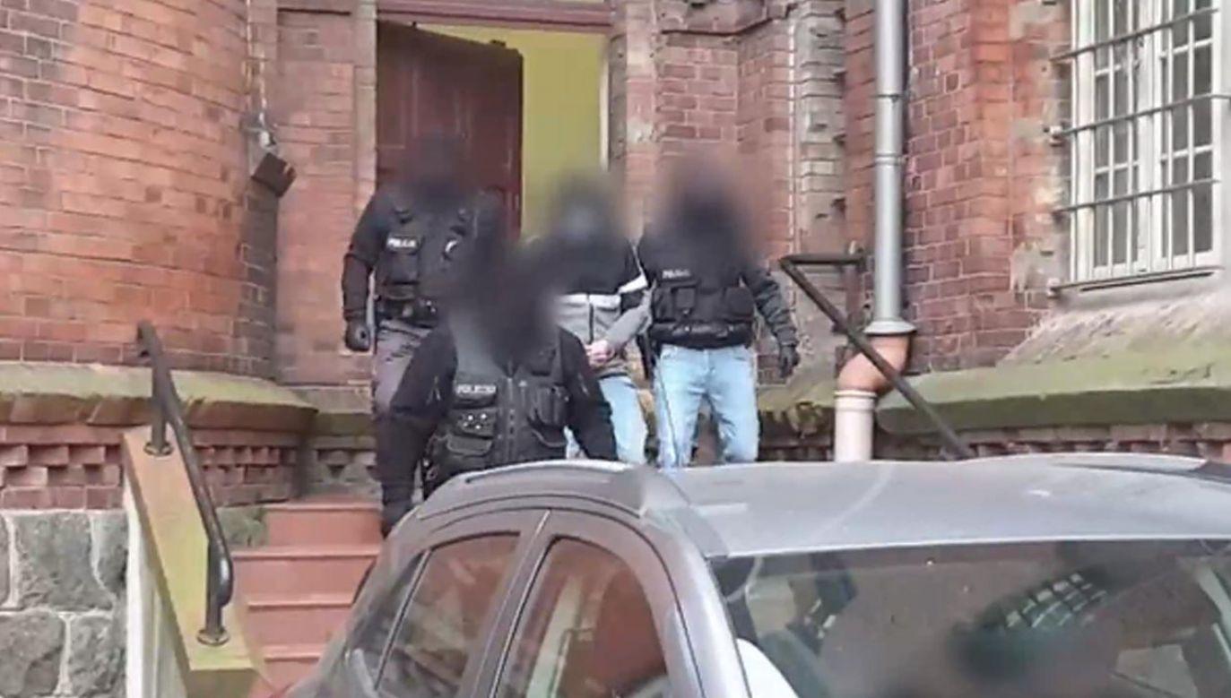 Nożownik zadał mężczyźnie sześć ciosów, uszkadzając płuco (fot. policja)