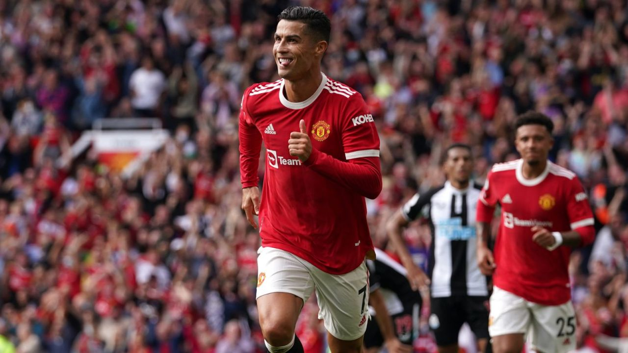 Premier League. Manchester United - Newcastle United 4:1.  Udany powrót Cristiano Ronaldo (sport.tvp.pl)