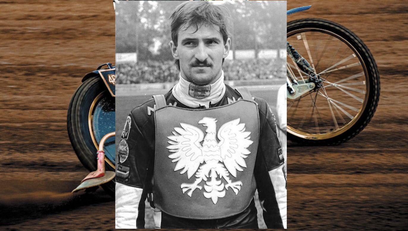 Jacek Gomólski miał 53 lata (fot. FB/Start Gniezno, Shutterstock)