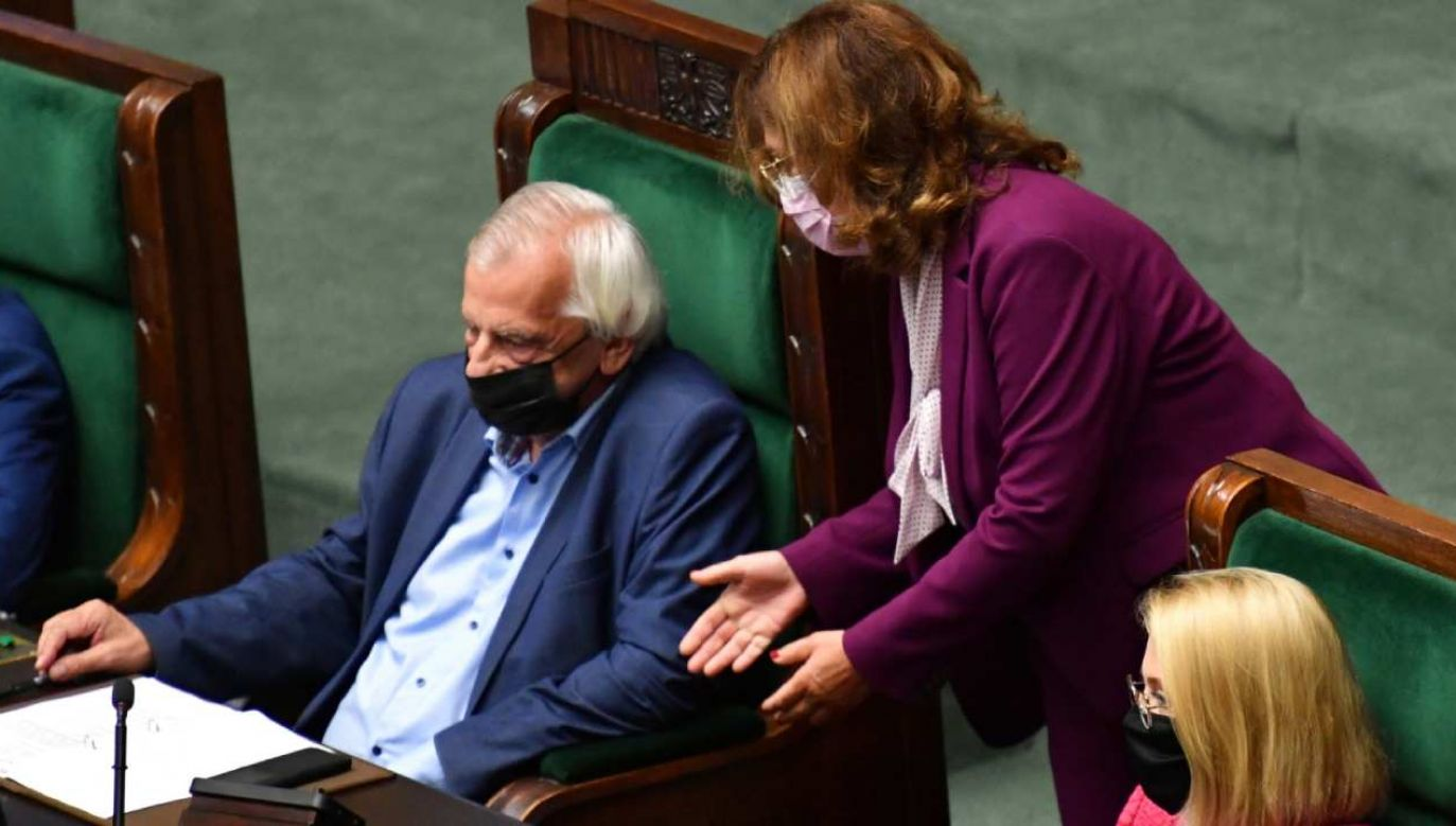 Ryszard Terlecki na posiedzeniu Sejmu (fot. PAP/Piotr Nowak)