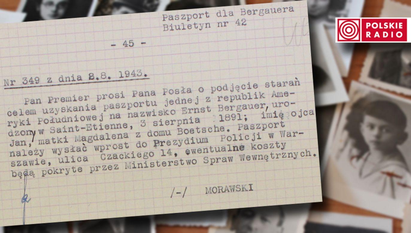 Polscy dyplomaci angażowali się w pomoc Żydom podczas II wojny światowej (fot. Polskie Radio)