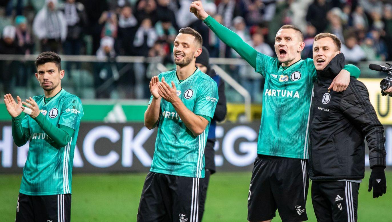 Legia Warszawa rozpocznie eliminacje Ligi Mistrzów od pierwszej rundy (fot. Getty Images)