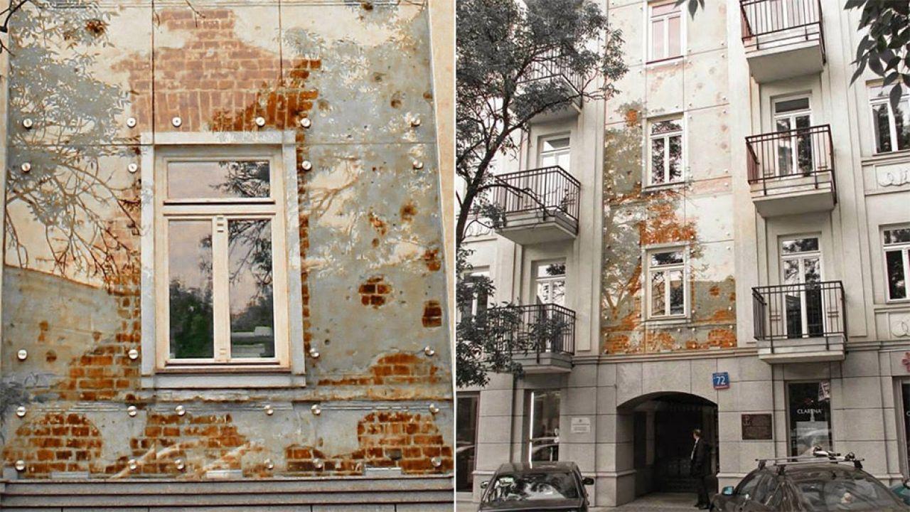 Kamienica przetrwała wojnę (fot. facebook.com/Warszawy historia ukryta)