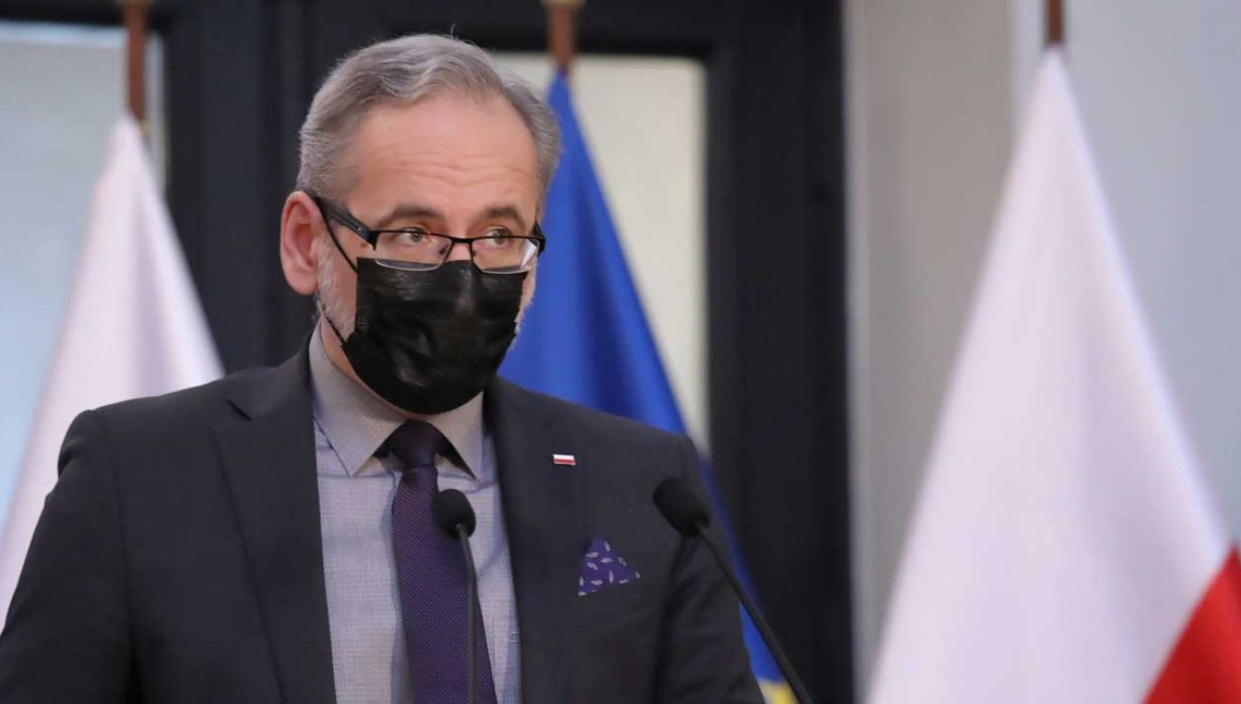 Konferencja ministra zdrowia – transmisja online na portalu tvp.info (fot. PAP/Tomasz Gzell)