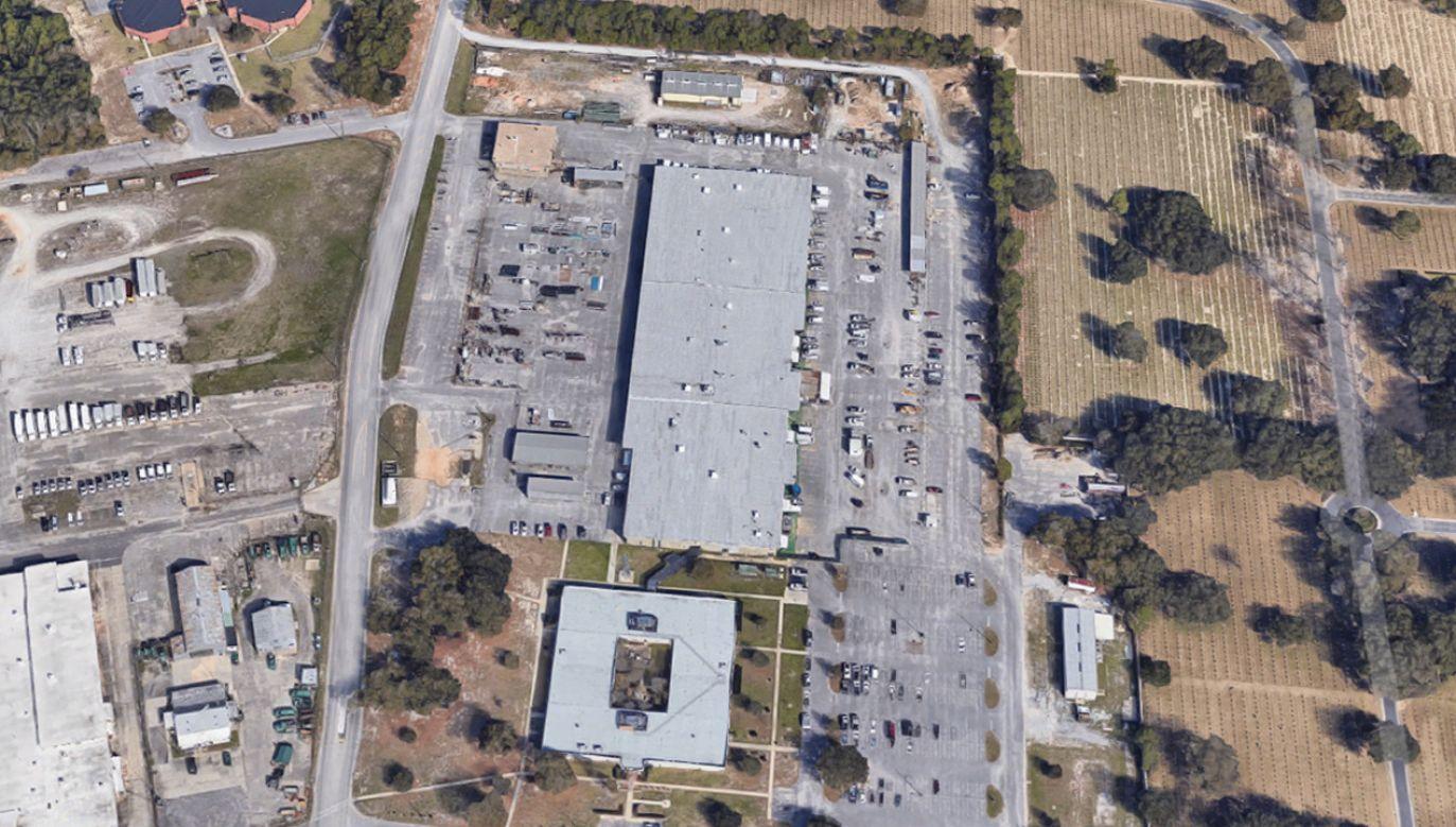 W ataku w amerykańskiej bazie wojskowej w Pensacola ucierpiało wiele osób (fot. Google Maps)