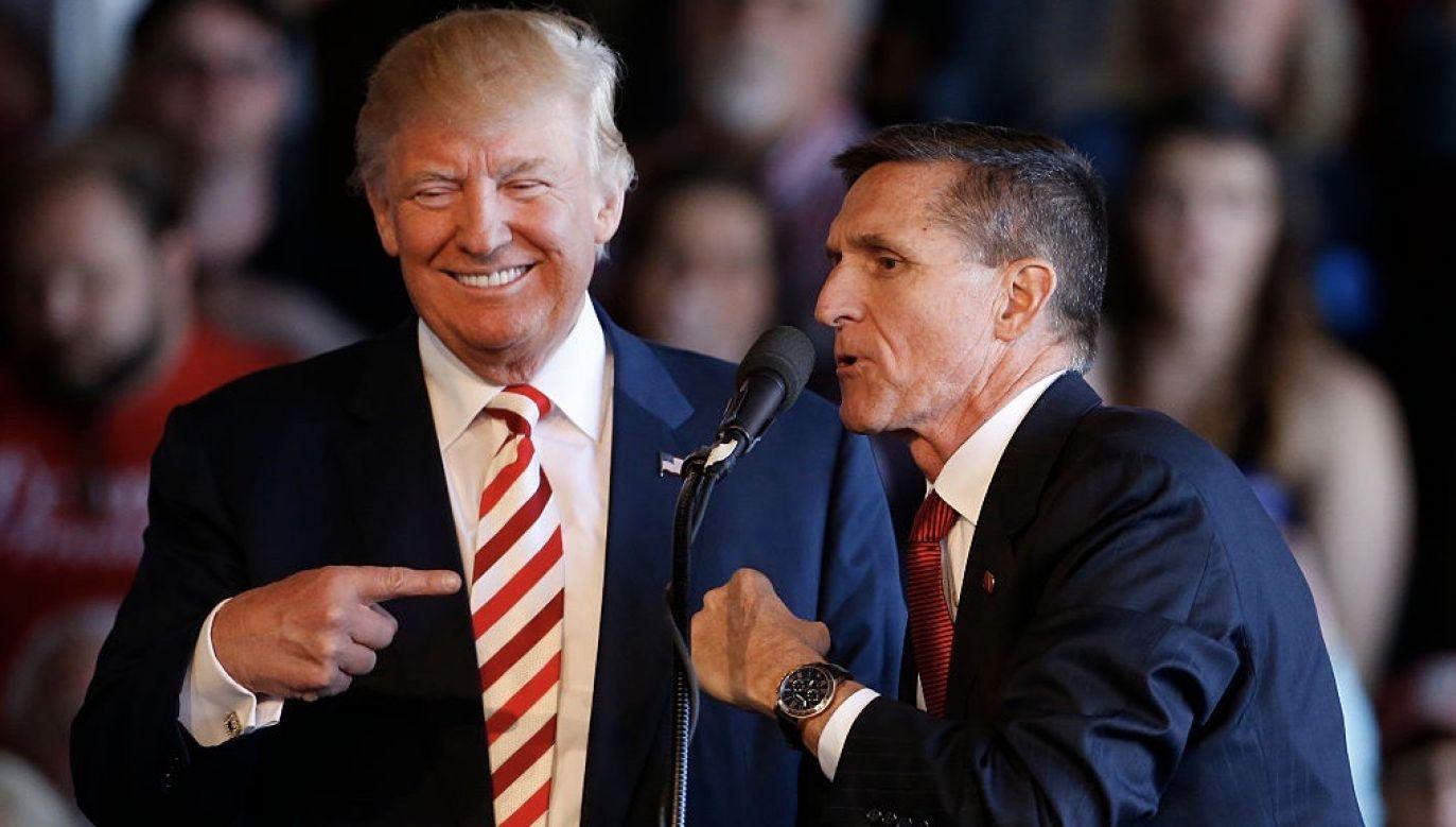 Flynn przyznał, że składał fałszywe zeznania (fot. George Frey/Getty Images)