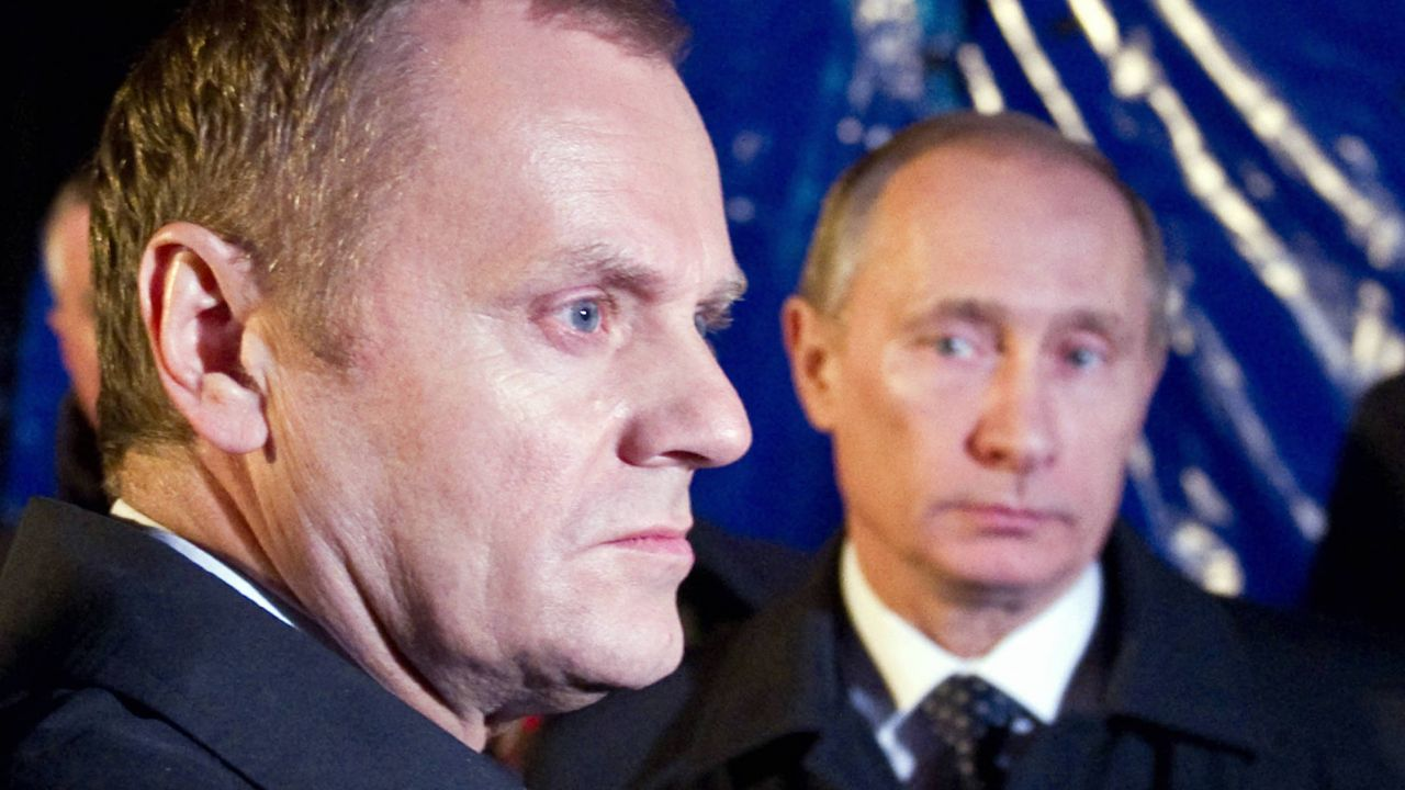 Donald Tusk i Władimir Putin (fot. PAP/ITAR-TASS.)