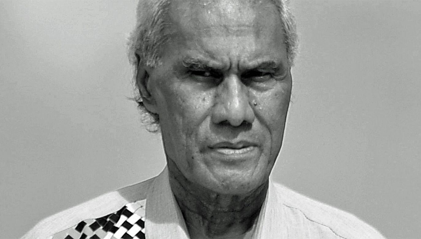 'Akilisi Pohiva zmarł w szpitalu w nowozelandzkim Auckland (fot. PAP/EPA/MICK TSIKAS)
