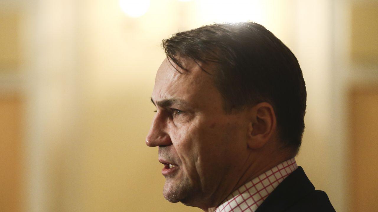 Radosław Sikorski, europoseł Platformy Obywatelskiej (fot. Beata Zawrzel/NurPhoto via Getty Images)