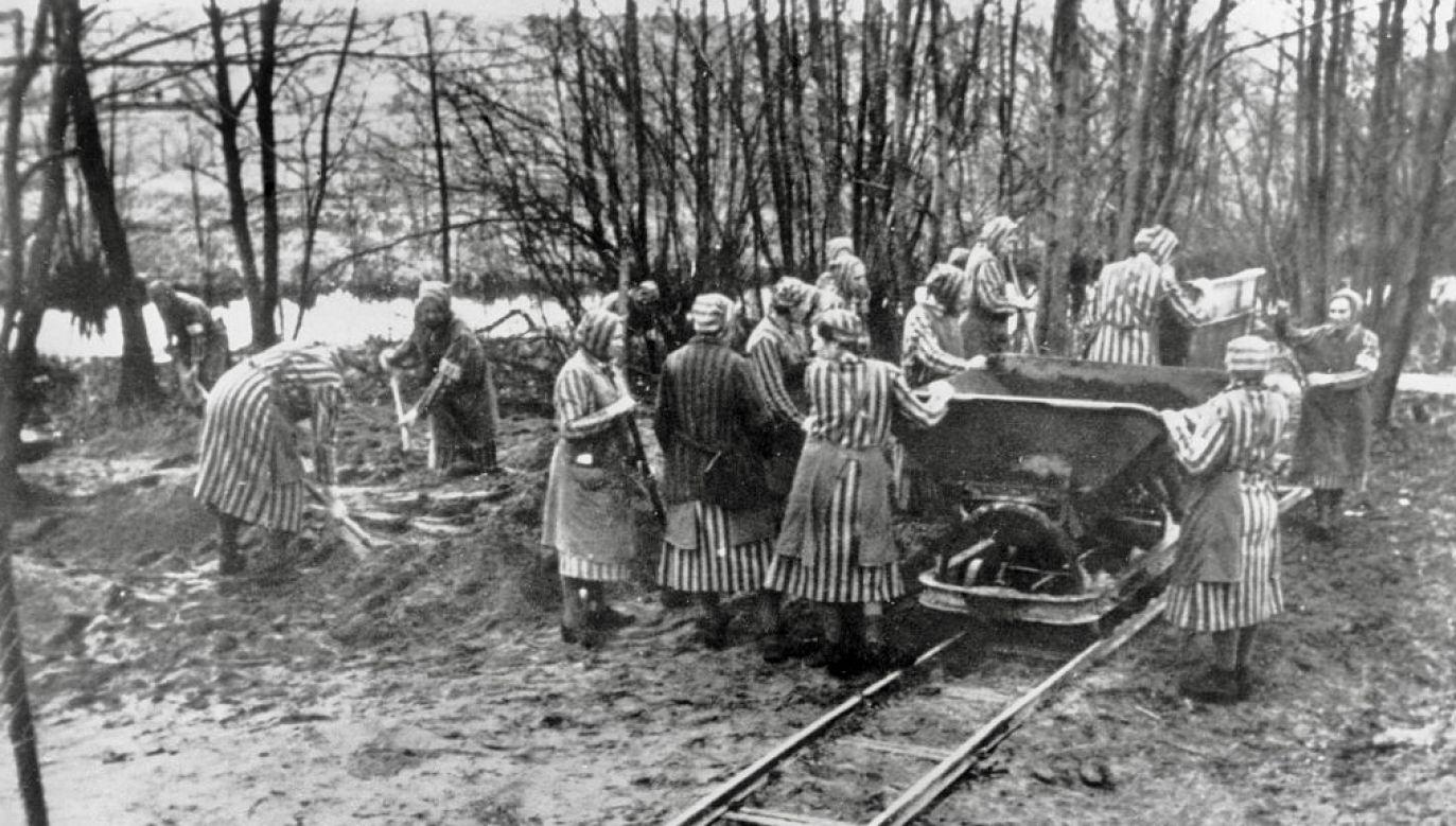 Polonia w Berlinie uczciła pamięć ofiar niemieckiego obozu koncentracyjnego (fot. ADN-Bildarchiv/ullstein bild via Getty Images)