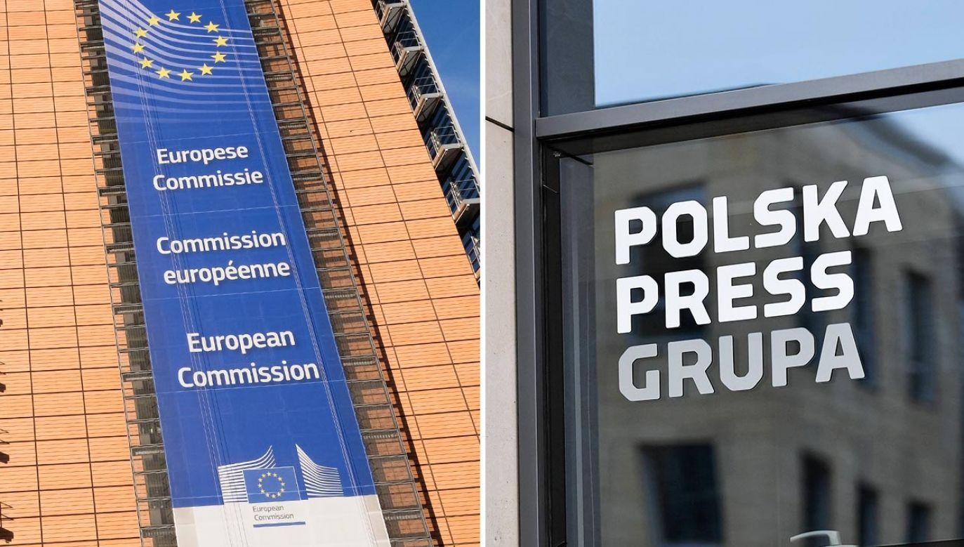 Niemieccy dziennikarze chcą ingerencji KE (fot. Shutterstock/IDN;PAP/Marcin Obara)