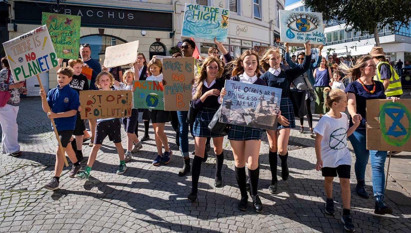 Prezydent wezwał młodych, by demonstrowali w Polsce (fot. Andrew Aitchison / In Pictures/Getty Images)