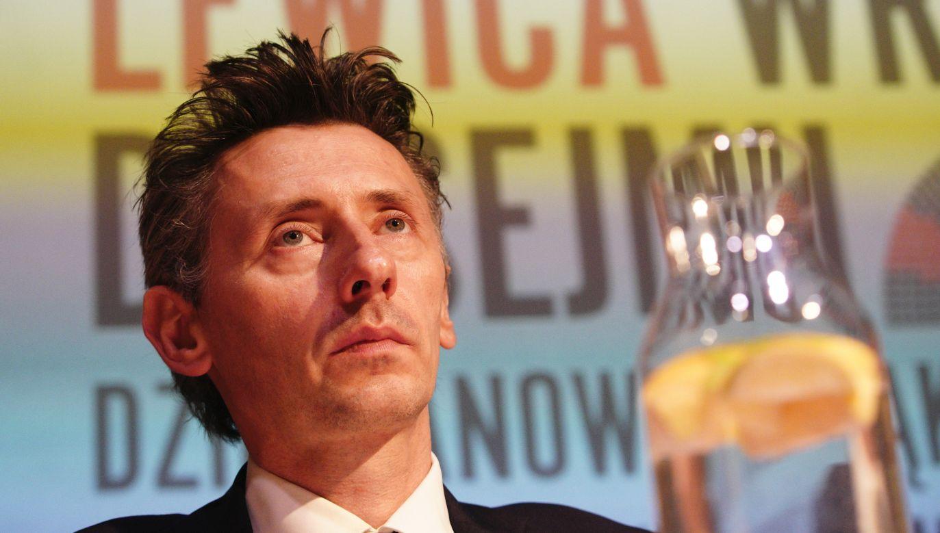 Poseł Lewicy Maciej Gdula (fot. Jaap Arriens/NurPhoto via Getty Images)